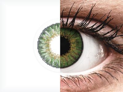 Air Optix Colors - Green - nedioptrické (2 šošovky)