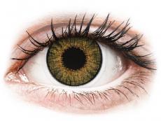 Hnedé kontaktné šošovky - nedioptrické - Air Optix Colors - Pure Hazel - nedioptrické (2šošovky)