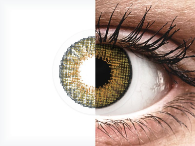 Air Optix Colors - Pure Hazel - nedioptrické (2 šošovky)