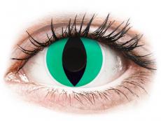 Farebné kontaktné šošovky - ColourVUE Crazy Lens - Anaconda - nedioptrické (2šošovky)