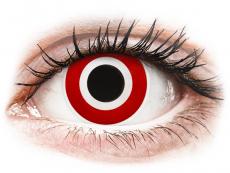 Kontaktné šošovky Maxvue Vision - ColourVUE Crazy Lens - Bulls Eye - nedioptrické (2šošovky)