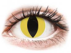 Crazy farebné šošovky - nedioptrické - ColourVUE Crazy Lens - Cat Eye - nedioptrické (2šošovky)