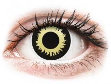 Crazy farebné šošovky - nedioptrické - ColourVUE Crazy Lens - Eclipse - nedioptrické (2šošovky)