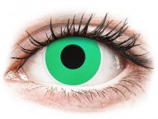 Crazy farebné šošovky - nedioptrické - ColourVUE Crazy Lens - Emerald (Green) - nedioptrické (2šošovky)