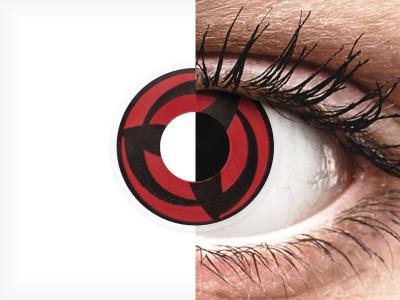 ColourVUE Crazy Lens - Kakashi - nedioptrické (2šošovky)