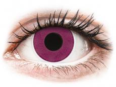 Crazy farebné šošovky - nedioptrické - ColourVUE Crazy Lens - Purple - nedioptrické (2šošovky)
