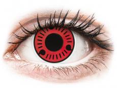 Farebné kontaktné šošovky - ColourVUE Crazy Lens - Sasuke - nedioptrické (2šošovky)