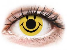 Farebné kontaktné šošovky - ColourVUE Crazy Lens - Smiley - nedioptrické (2šošovky)