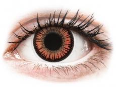 Farebné kontaktné šošovky - ColourVUE Crazy Lens - Vampire - nedioptrické (2šošovky)