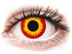 Farebné kontaktné šošovky - ColourVUE Crazy Lens - Wildfire - nedioptrické (2šošovky)