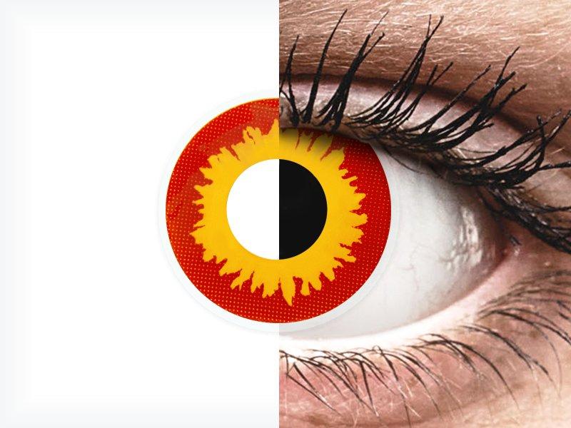 ad0f27fb5 ColourVUE Crazy Lens - Wildfire - nedioptrické (2 šošovky)