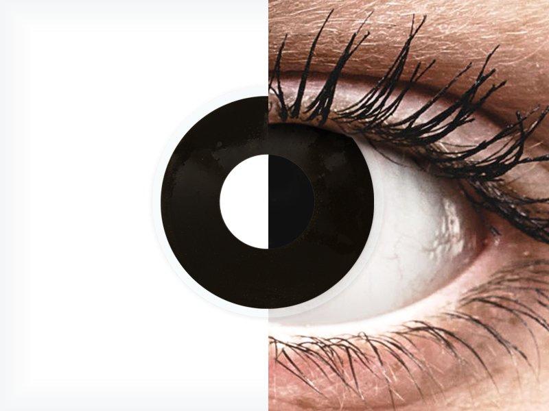 ColourVUE Crazy Lens - BlackOut - dioptrické (2šošovky)