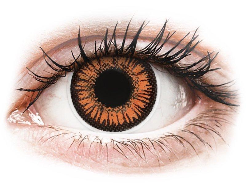 ColourVUE Crazy Lens - Twilight - dioptrické (2šošovky) - Coloured contact lenses