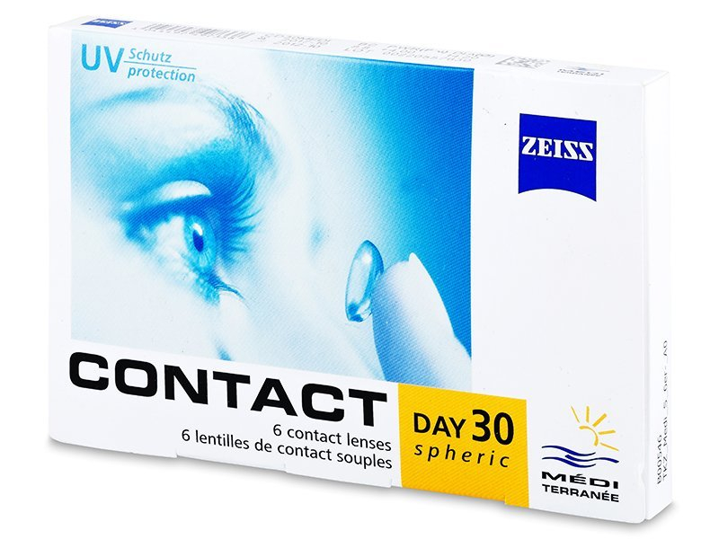 Carl Zeiss Contact Day 30 Spheric (6šošoviek) - Mesačné kontaktné šošovky