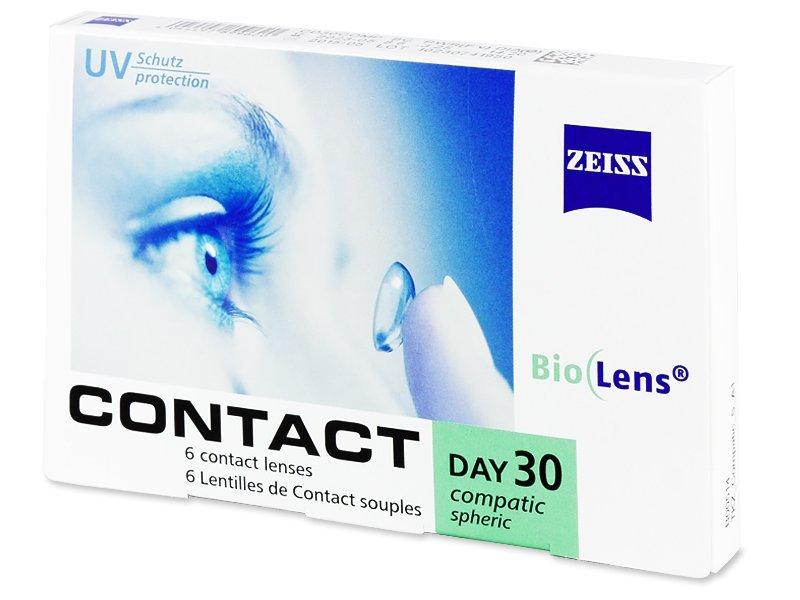 Carl Zeiss Contact Day 30 Compatic (6šošoviek) - Mesačné kontaktné šošovky