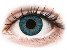 Farebné kontaktné šošovky - TopVue Color - Blue - dioptrické denné (10šošoviek)