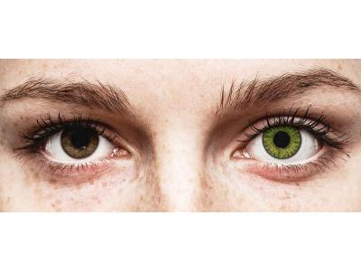 TopVue Color - Fresh Green - nedioptrické denné (10šošoviek)