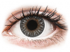 Sivé kontaktné šošovky - nedioptrické - TopVue Color - Grey - nedioptrické (2 šošovky)
