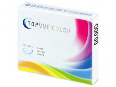 TopVue Color - Turquoise - nedioptrické (2 šošovky) - Starší vzhľad