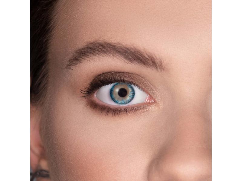 TopVue Color - Turquoise - nedioptrické (2 šošovky)