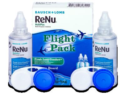 ReNu Multiplus Flight pack 2 x 60 ml  - Čistiaci roztok