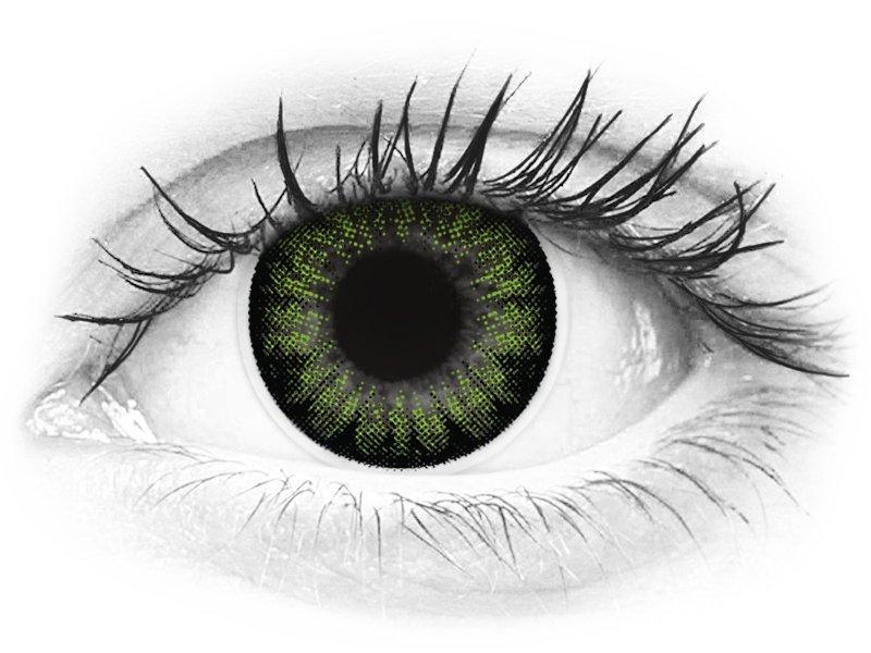 2b6ef6691 ColourVUE BigEyes Party Green - nedioptrické (2 šošovky)