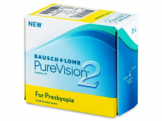 Multifokálne kontaktné šošovky - PureVision 2 for Presbyopia (6šošoviek)