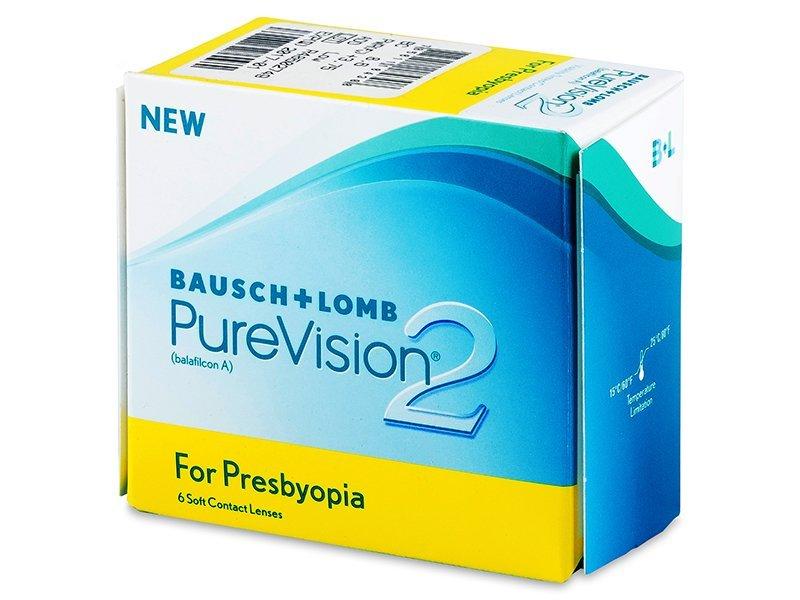 PureVision 2 for Presbyopia (6šošoviek) - Multifokálne kontaktné šošovky - Bausch and Lomb