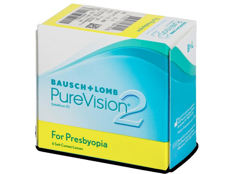 PureVision 2 for Presbyopia (6šošoviek) - Multifokálne kontaktné šošovky