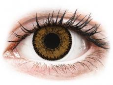Hnedé kontaktné šošovky - dioptrické - SofLens Natural Colors India - dioptrické (2 šošovky)