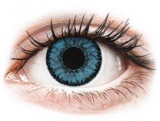Modré kontaktné šošovky - dioptrické - SofLens Natural Colors Pacific - dioptrické (2 šošovky)