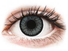 Sivé kontaktné šošovky - nedioptrické - SofLens Natural Colors Platinum - nedioptrické (2 šošovky)