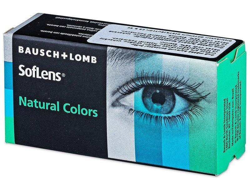 SofLens Natural Colors Platinum - nedioptrické (2 šošovky)