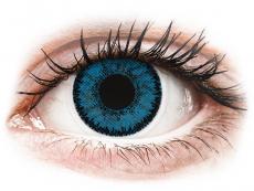 Kontaktné šošovky Bausch and Lomb - SofLens Natural Colors Topaz - nedioptrické (2 šošovky)
