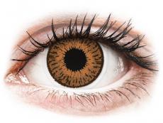 Hnedé kontaktné šošovky - dioptrické - Expressions Colors Hazel - dioptrické (1 šošovka)