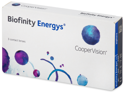Biofinity Energys (3 šošovky) - Contact lenses