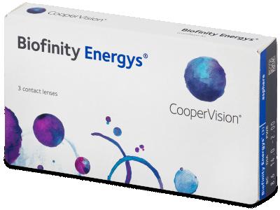 Biofinity Energys (3 šošovky) - Mesačné kontaktné šošovky