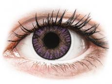 Fialové kontaktné šošovky - nedioptrické - FreshLook ColorBlends Amethyst - nedioptrické (2 šošovky)