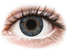Modré kontaktné šošovky - dioptrické - FreshLook ColorBlends Blue - dioptrické (2 šošovky)