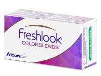 FreshLook ColorBlends Brown - dioptrické (2 šošovky)
