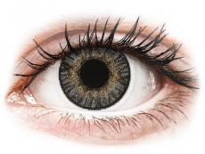 Farebné kontaktné šošovky - FreshLook ColorBlends Grey - dioptrické (2 šošovky)