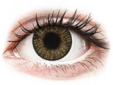 Farebné kontaktné šošovky - FreshLook ColorBlends Pure Hazel - dioptrické (2 šošovky)
