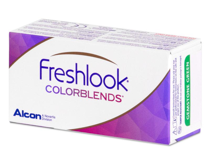 FreshLook ColorBlends Pure Hazel - dioptrické (2 šošovky)