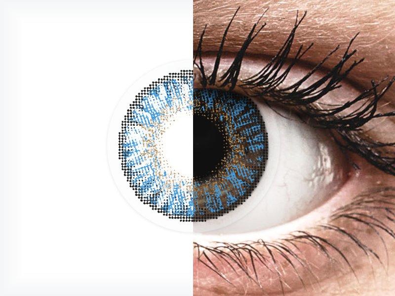 FreshLook ColorBlends True Sapphire - nedioptrické (2 šošovky)