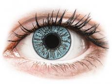 Farebné kontaktné šošovky - FreshLook Colors Blue - dioptrické (2 šošovky)