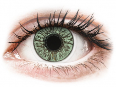 Farebné kontaktné šošovky - FreshLook Colors Green - dioptrické (2 šošovky)