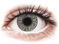 Farebné kontaktné šošovky - FreshLook Colors Misty Gray - nedioptrické (2 šošovky)