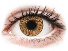 Farebné kontaktné šošovky - FreshLook Colors Hazel - dioptrické (2 šošovky)