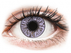 Farebné kontaktné šošovky - FreshLook Colors Violet - dioptrické (2 šošovky)