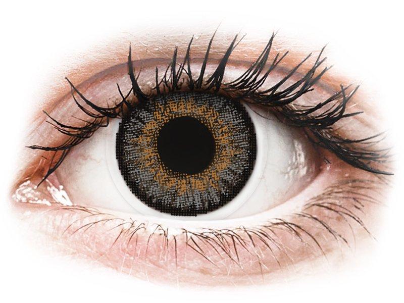 FreshLook One Day Color Grey - dioptrické (10 šošoviek) - Coloured contact lenses